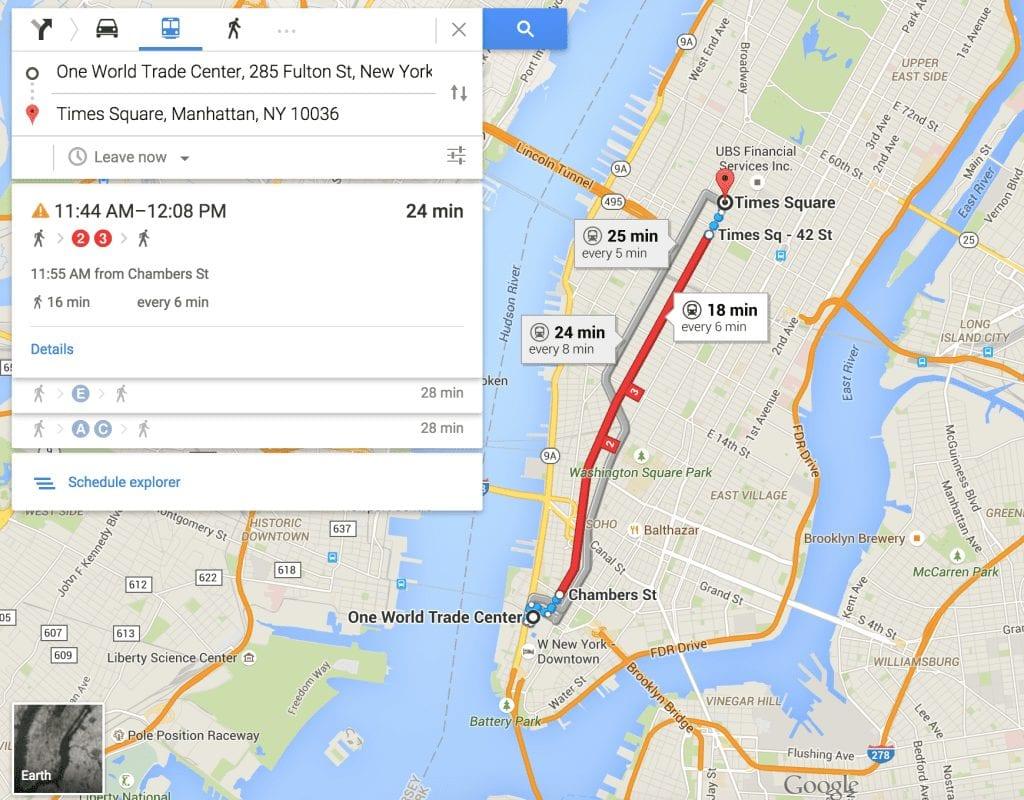 Thrifty Traveler Subway NYC