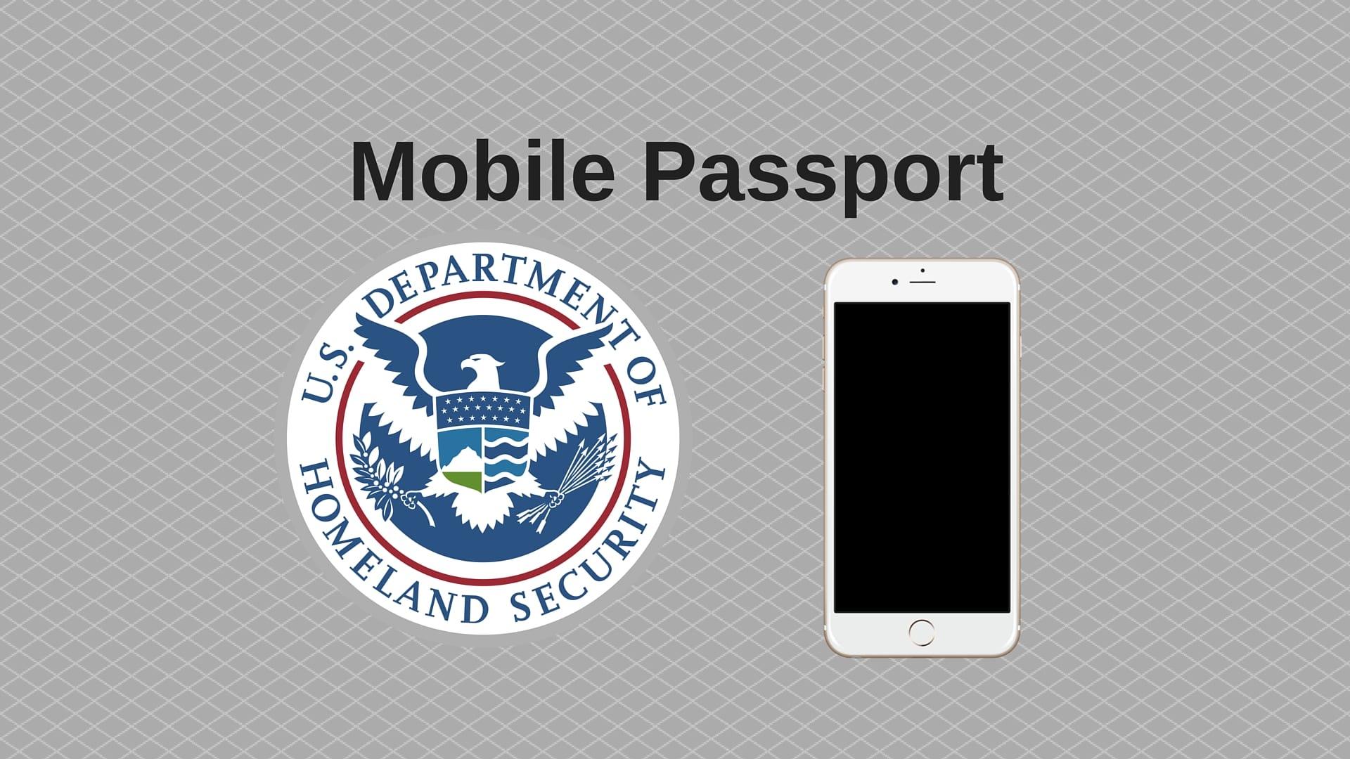 Mobile Passport 1