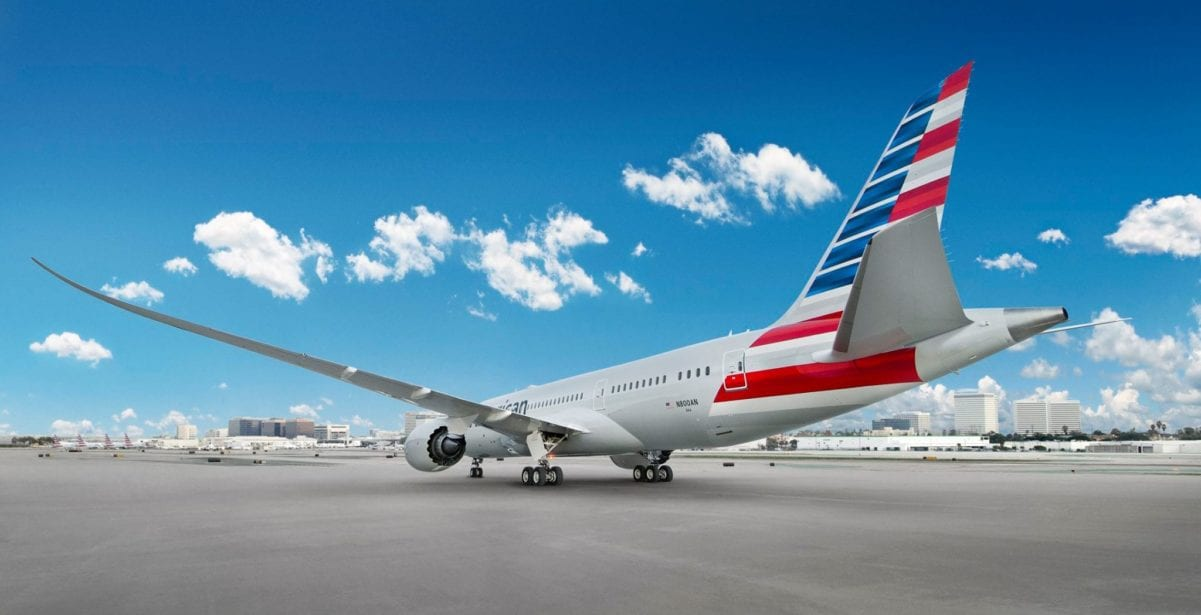 american airlines award chart