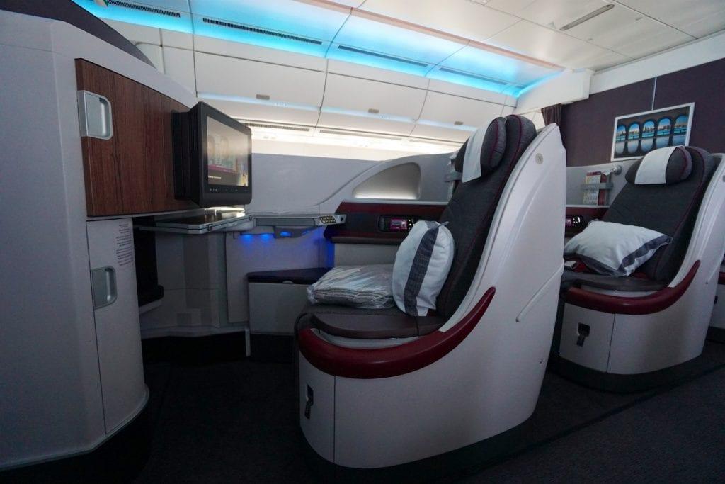 Qatar A350 Business Class 2