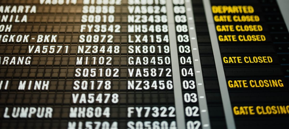 airlines grounded software outage