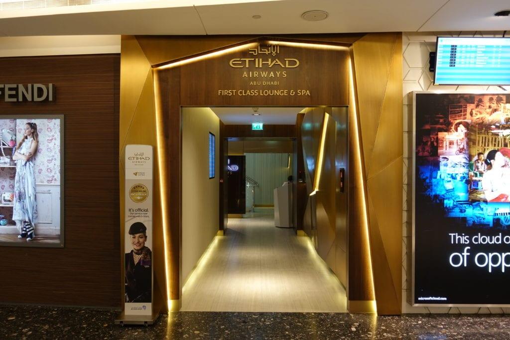 business Class vs First Class: Etihad first class lounge