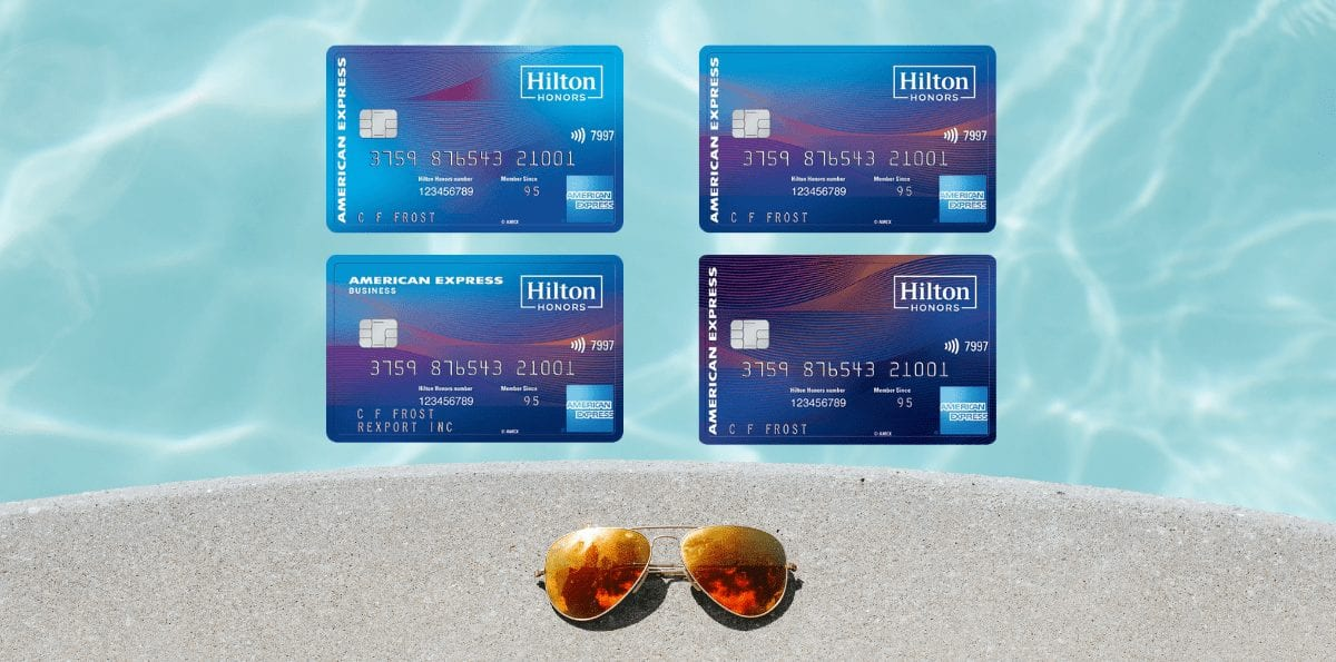 Earn up to 130K Points with the Hilton Credit Cards!