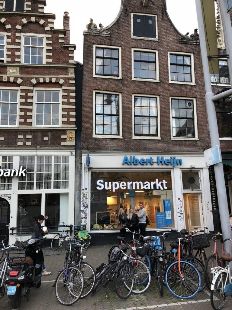 Supermarkt in central Amsterdam