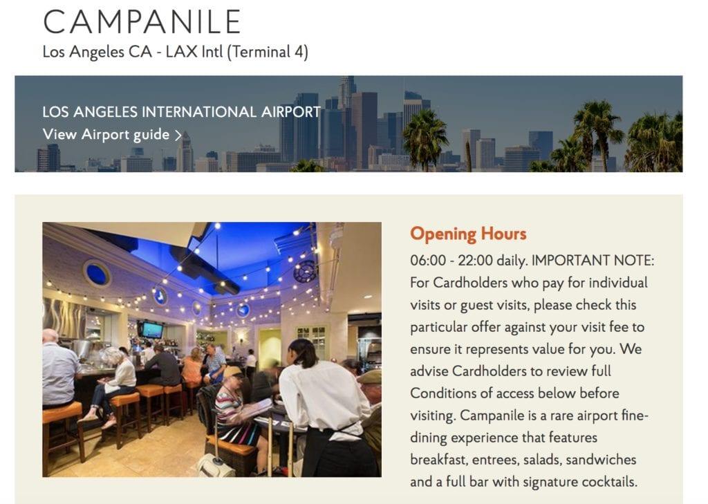 Priority Pass Restaurants LAX IAH