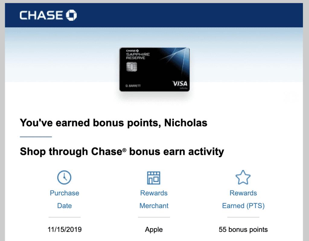 Shop Through Chase