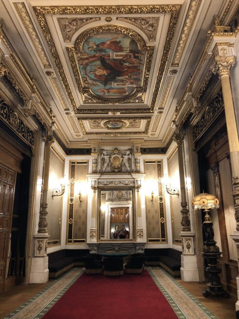 Inside the Vienna Opera House