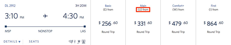 Delta Companion Ticket