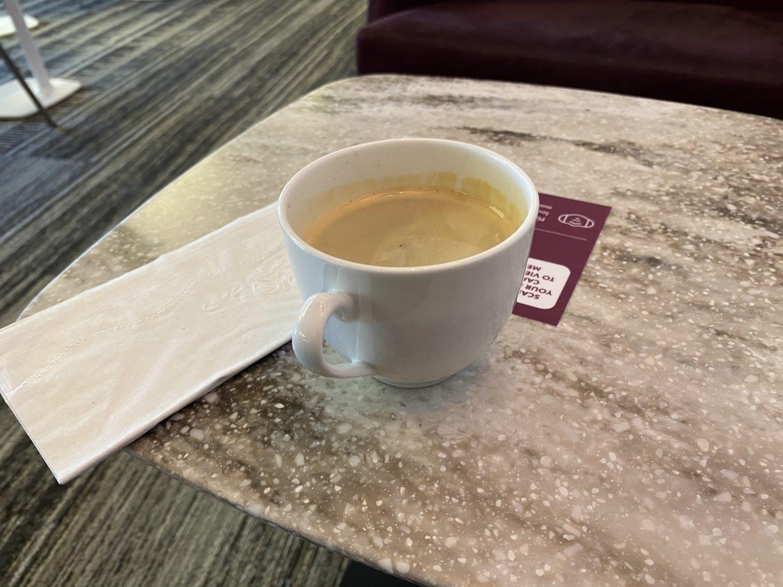 Escape Lounge MSP coffee