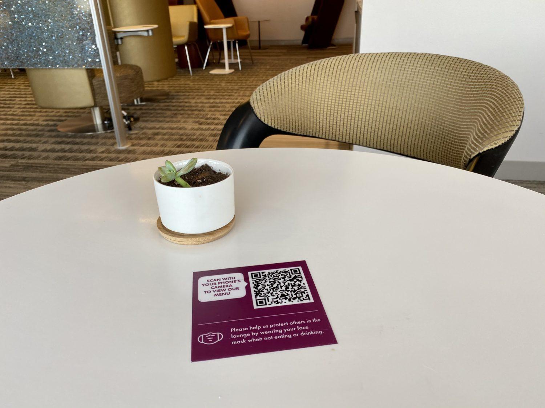 escape lounge MSP qr code