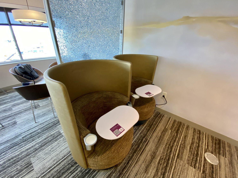 escape lounge msp seats