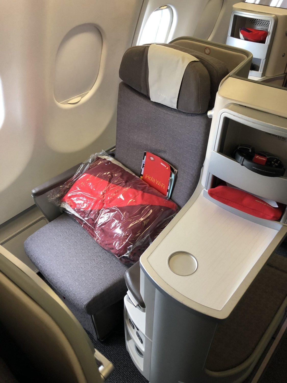 Iberia Business Class amenities