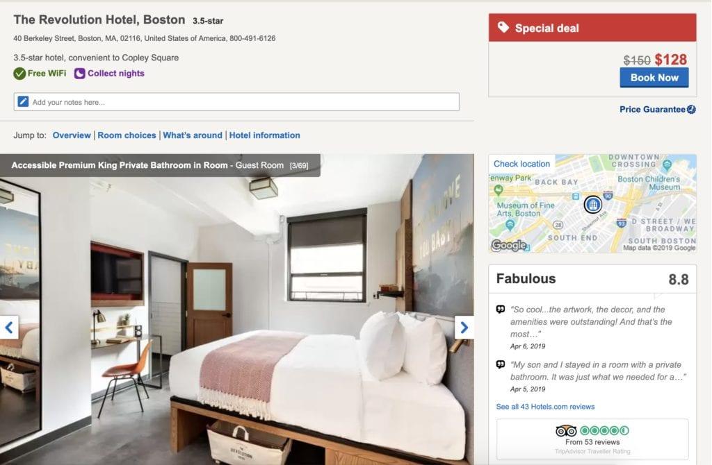Revolution Hotel Boston