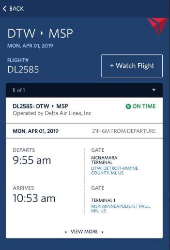 Delta Flight Delays