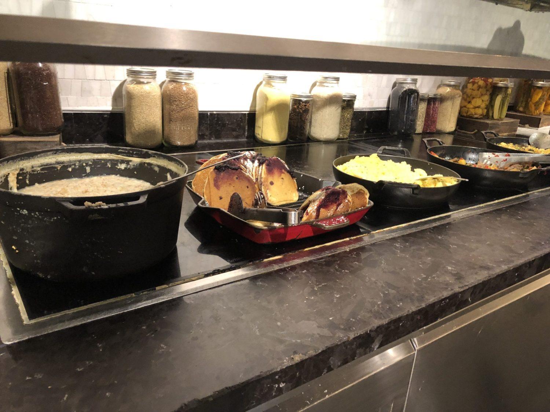 Centurion Lounge Las Vegas Food