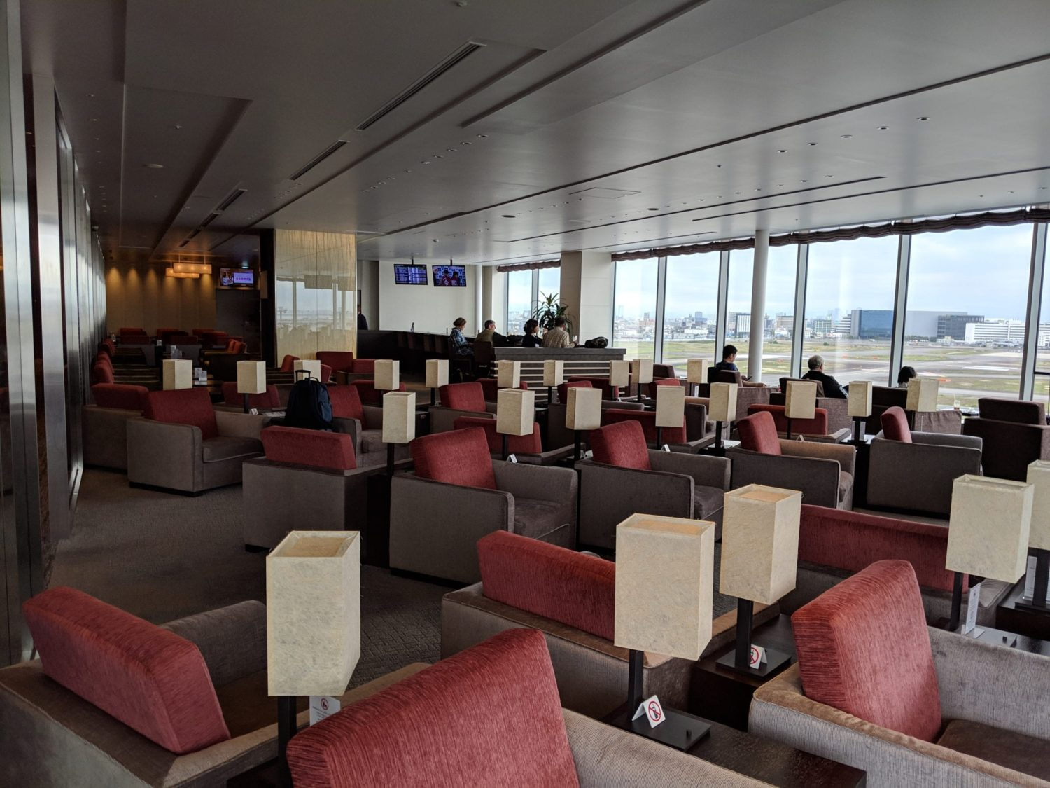 Delta One Suite Lounge HND