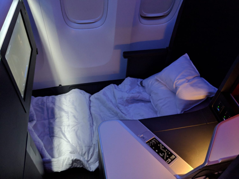 Delta One Suite bed