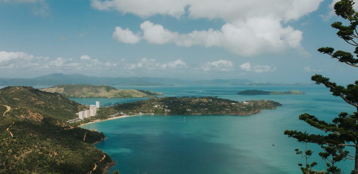 Hamilton Island bay
