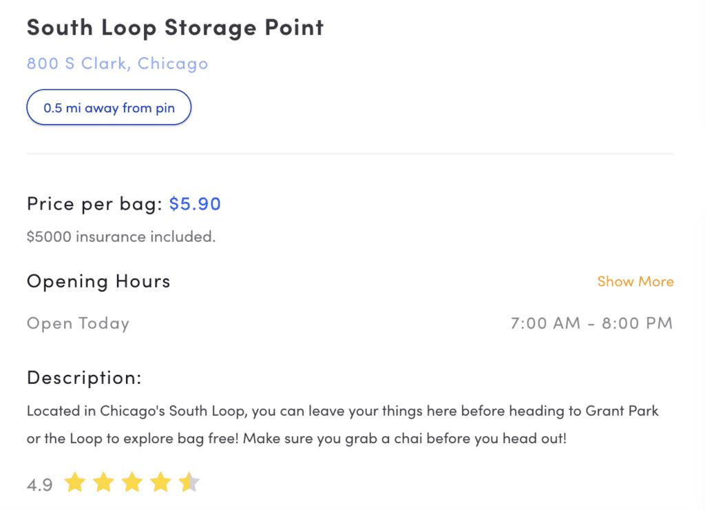 Bounce Luggage Storage