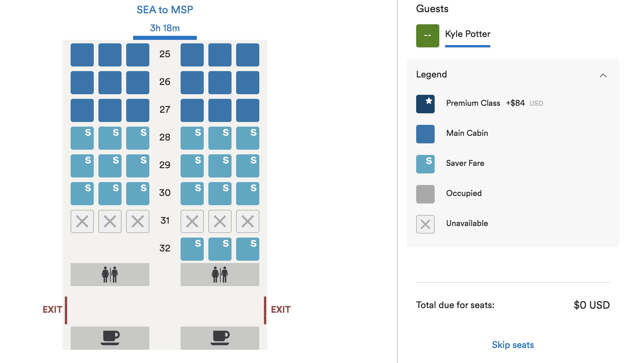alaska airlines basic economy seats