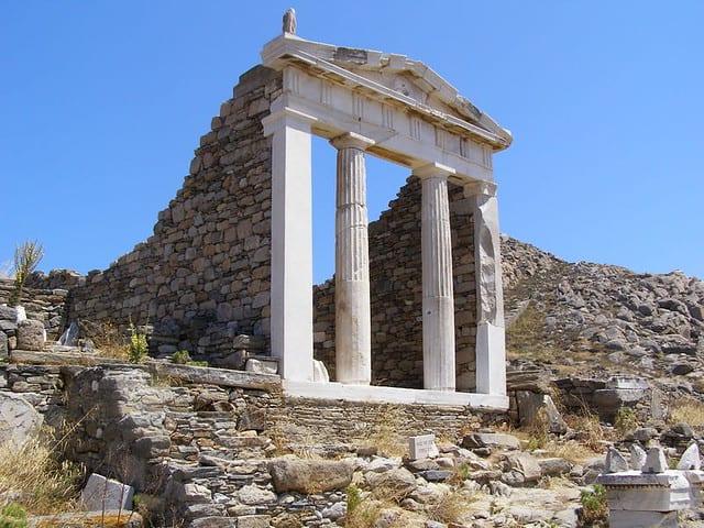 greece islands delos