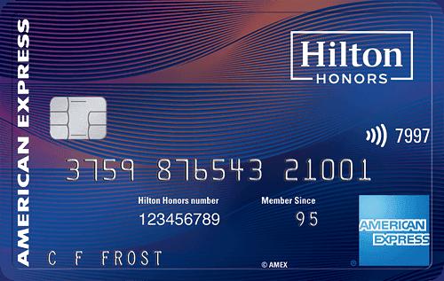 hilton aspire card