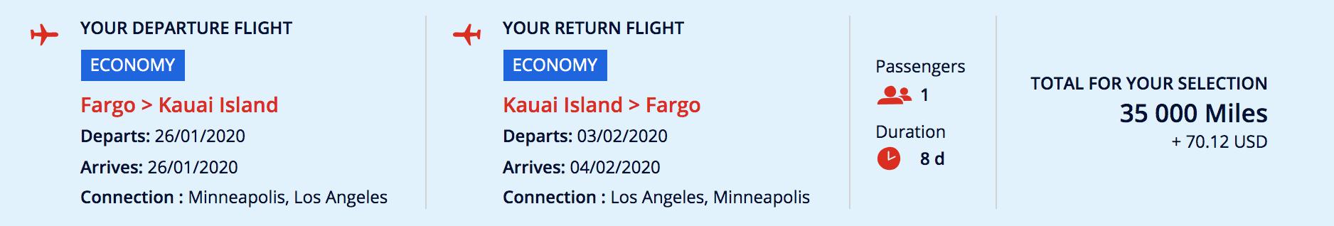 hawaii booking