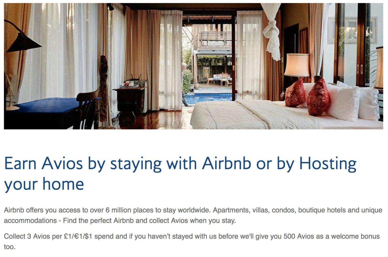 Airbnb British Airways
