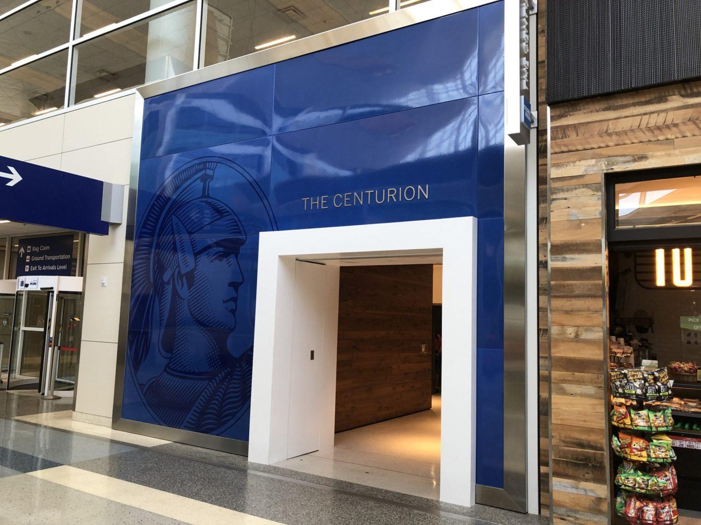 Centurion Lounge Dallas entry