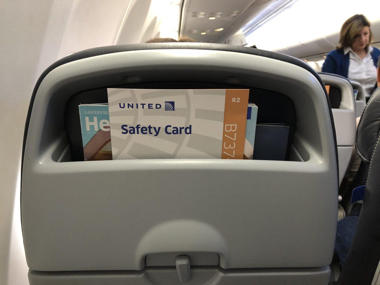 United seatback