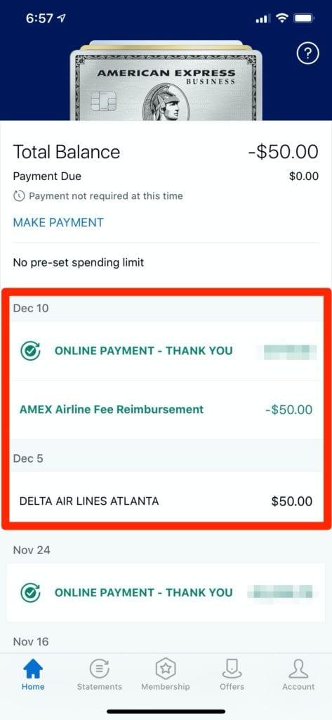 cuba tourist card amex airline credit