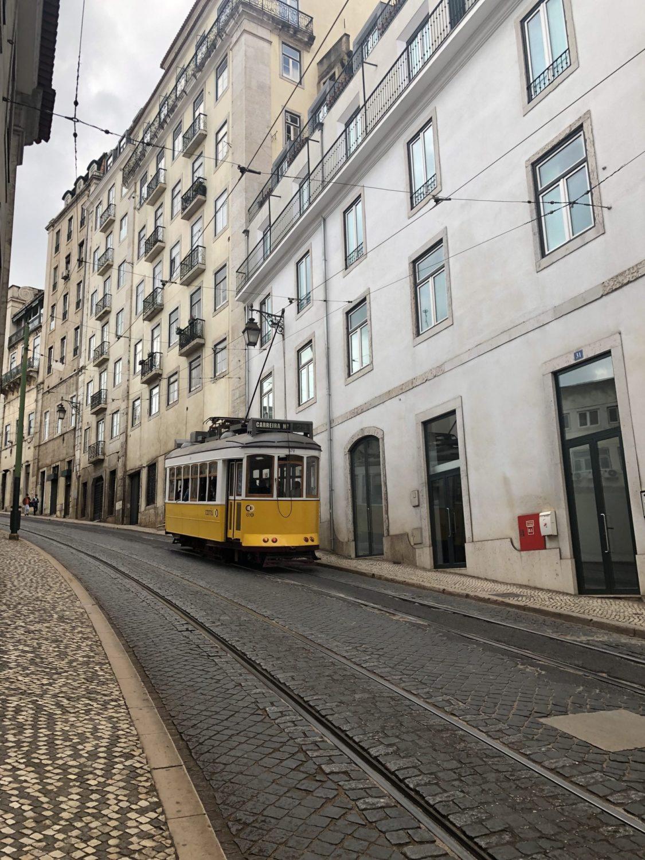 lisbon portugal tram 28