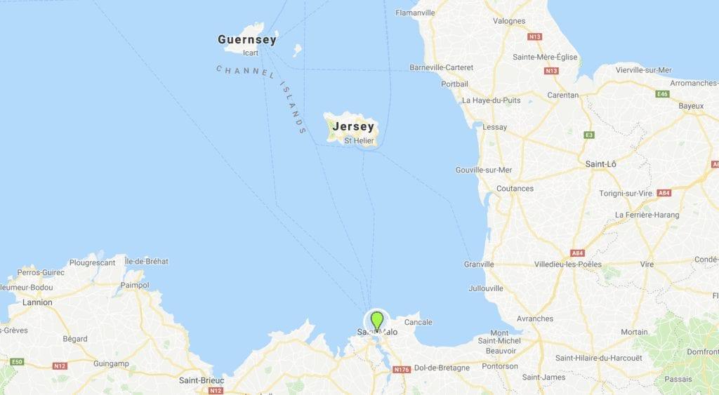 Saint-Malo Gurnsey Jersey