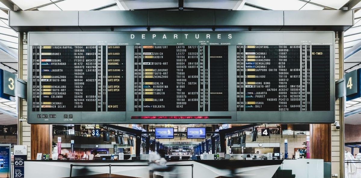 TSA travel records