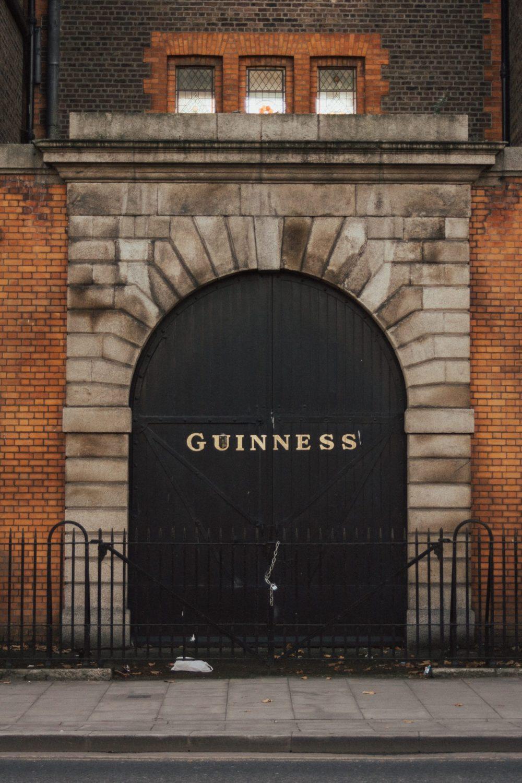 Guiness gates Dublin