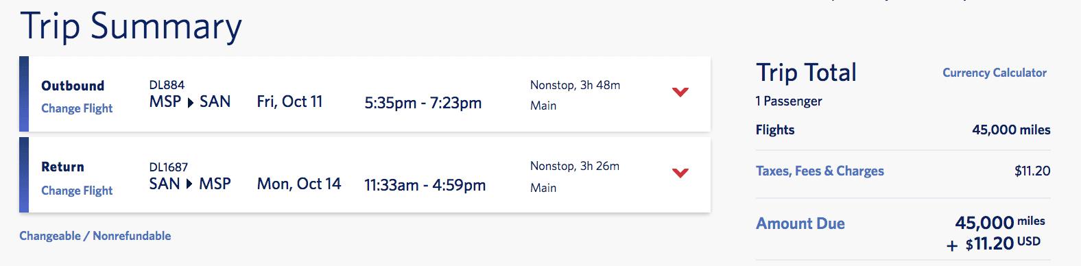 delta vacations flights