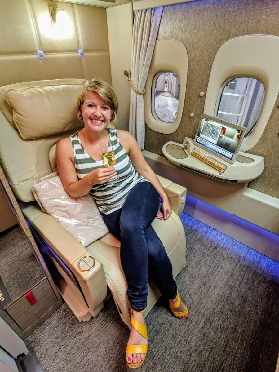 Emirates 777 First class