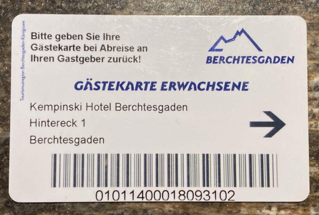 Berchtesgaden Guestcard