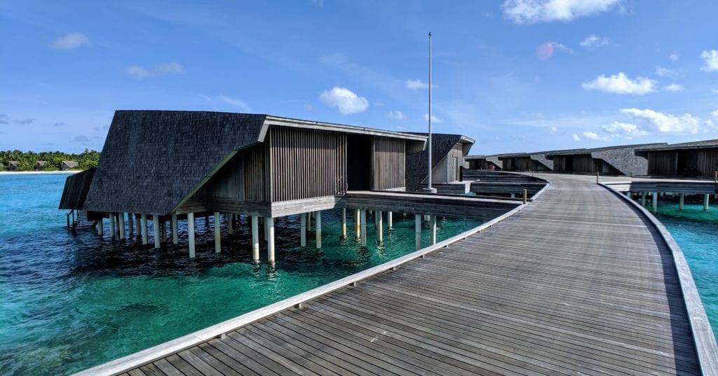 St Regis Maldives overwater villa