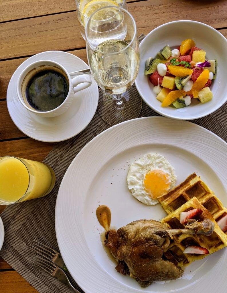 St. Regis Maldives breakfast