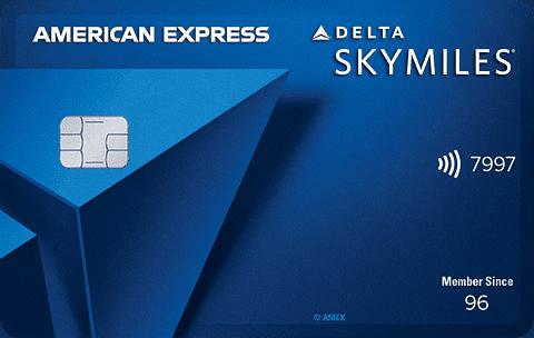 delta blue card