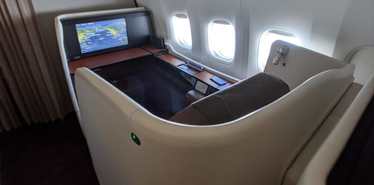 jal first class availability