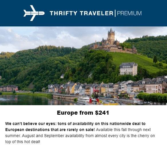 2019 travel premium