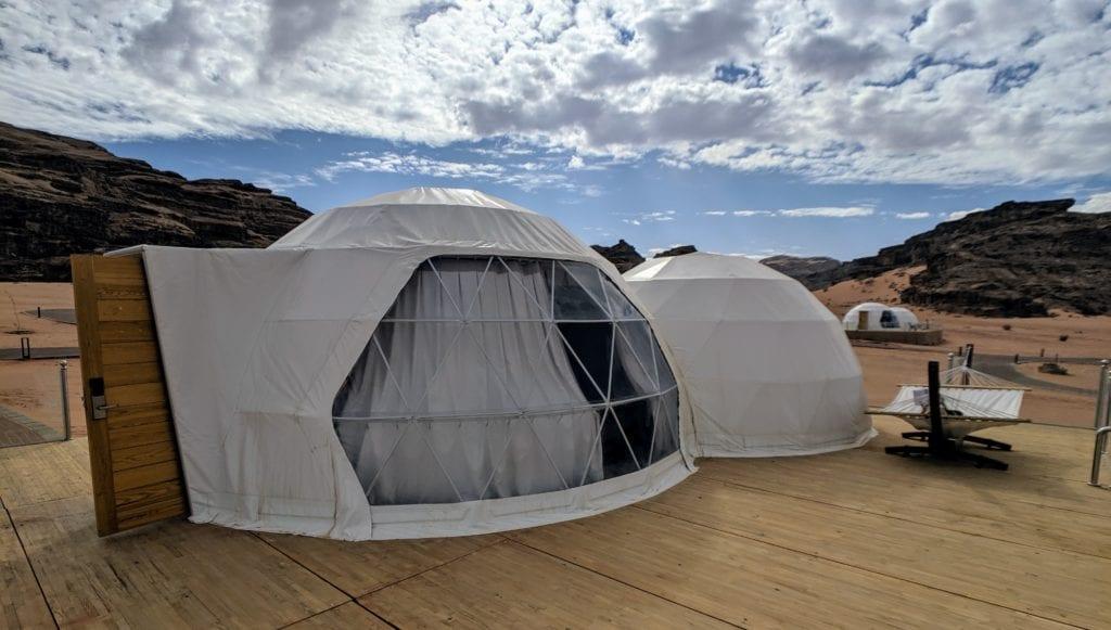 jordan travel wadi rum hotel