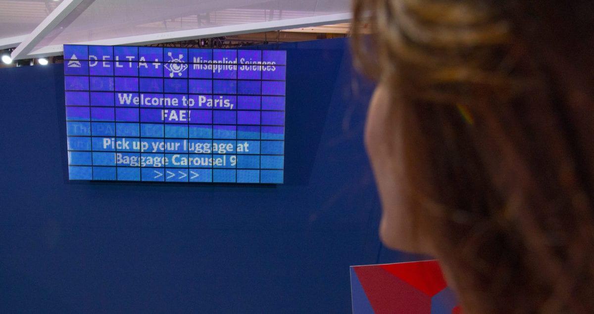Delta Will Debut High-Tech Flight Information Boards this Summer