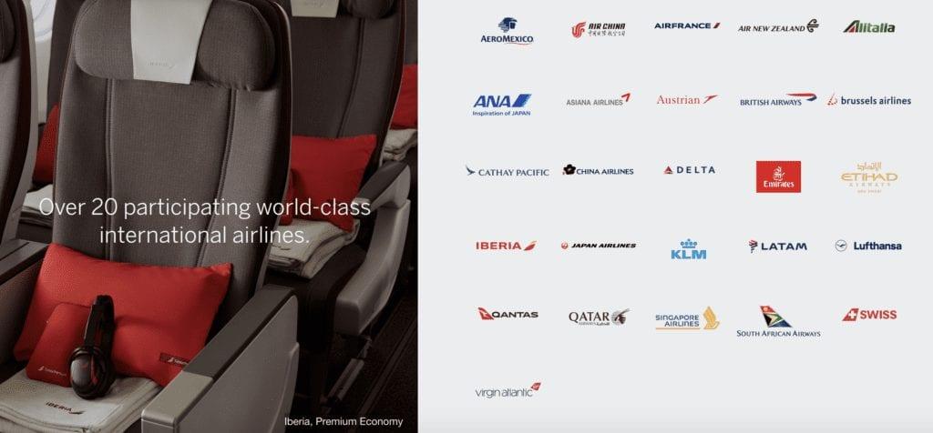 Amex International Airline Program