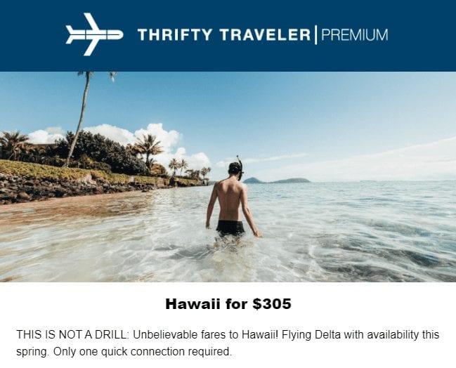 hawaii deal