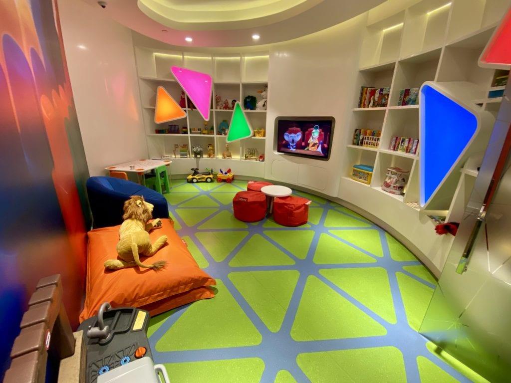 Etihad Lounge Playroom
