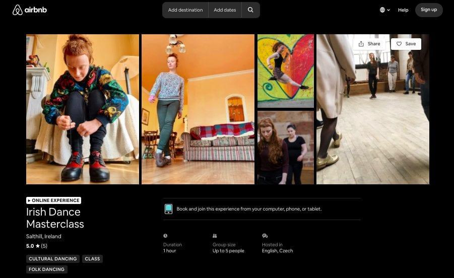 airbnb online
