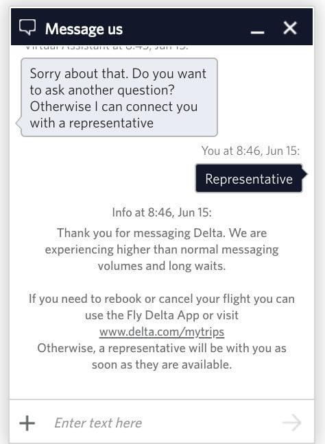 delta twitter
